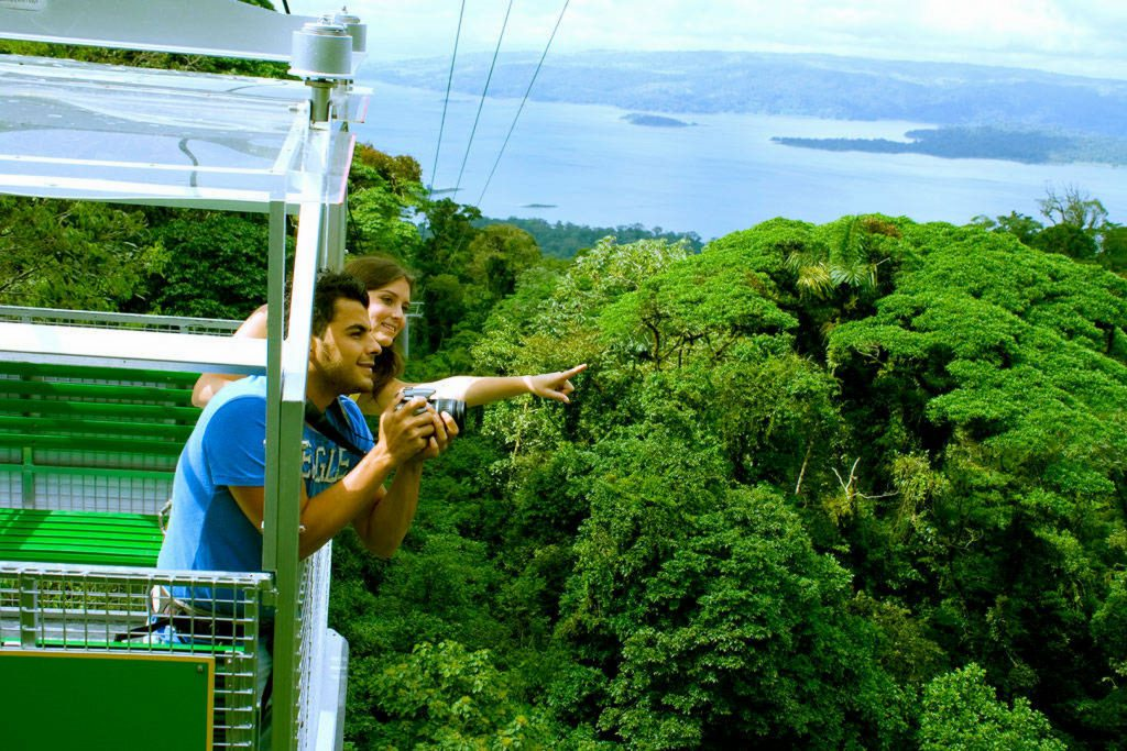Arenal Sky Adventure Tour  & Tabacon Hot