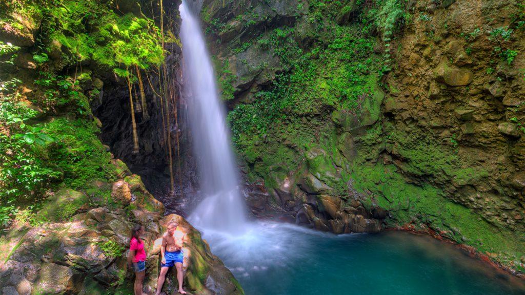 Rincon de la Vieja and Waterfall