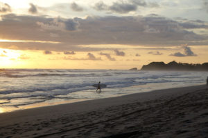 playa guiones trasportation